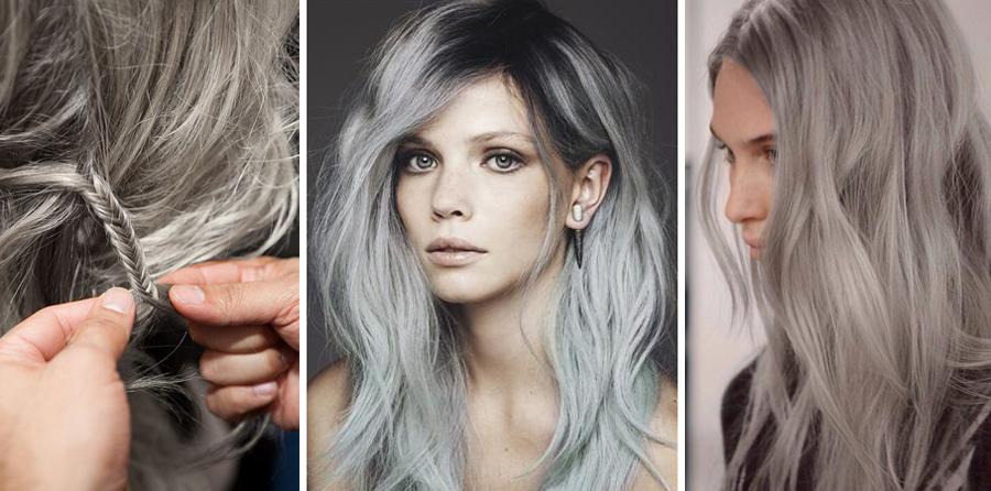 Бережная краска для седых волос